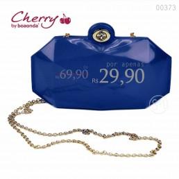 Bolsa Cherry Hanna Azul Klein