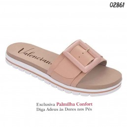 Sandália Valenciana Confort 1102 Rose