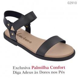 Sandália Valenciana Confort 1009 Preta