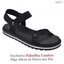 Sandália Valenciana Confort 1112 Preta