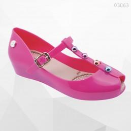 Sapatilha Miss Miss Pedras Pink Infantil 10163